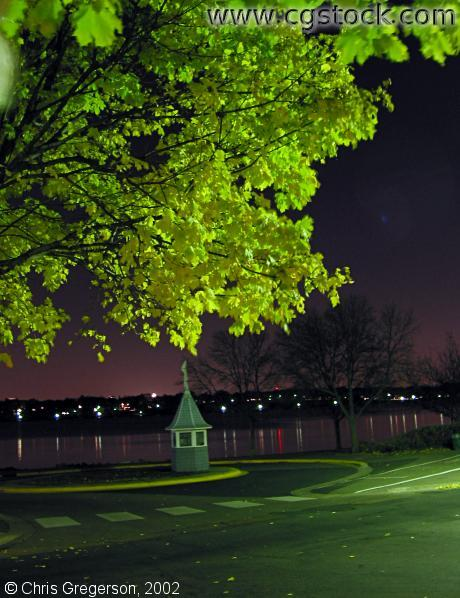 Lake Harriet at Night