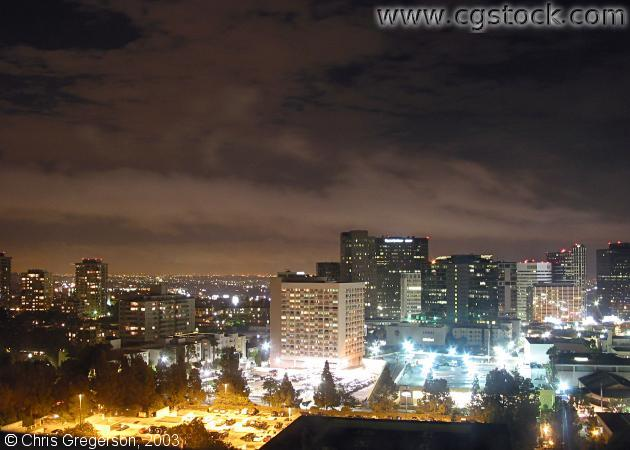 LA Skyline at Night