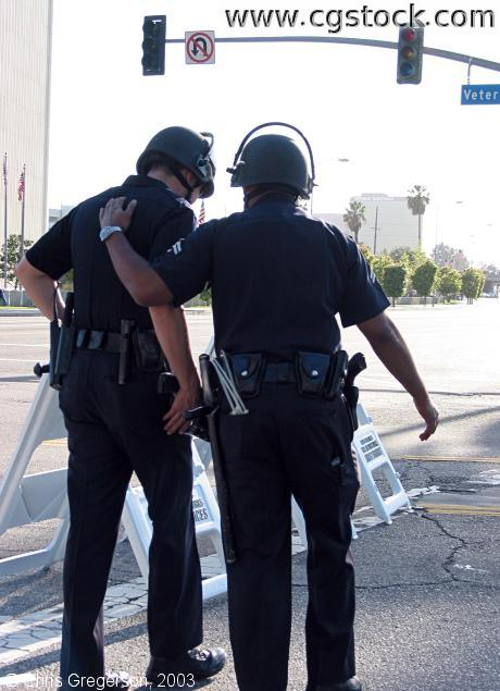 Two LAPD Police Officers