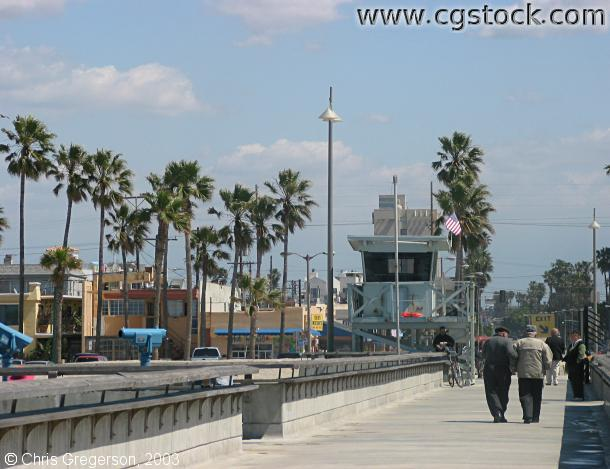 Venice Pier and Lifeguard Station