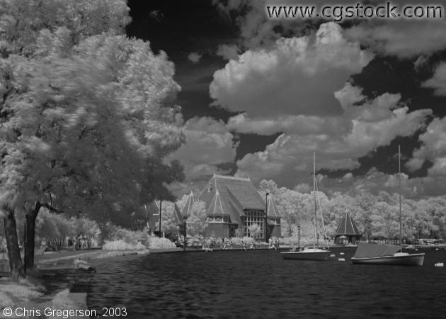 Lake Harriet Bandshell (Infrared)