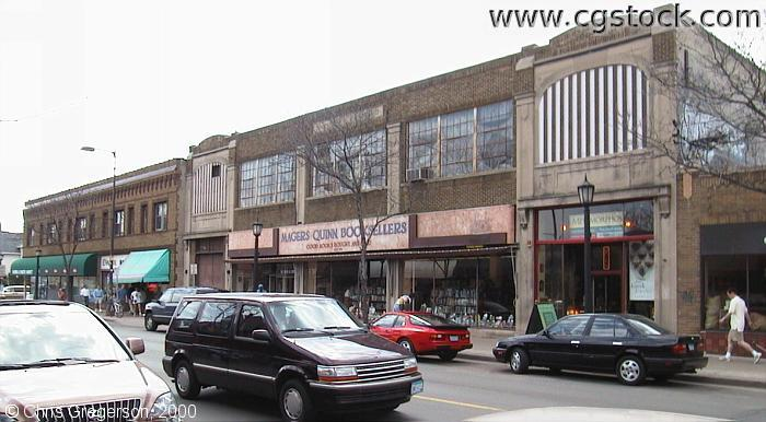 Stores on Hennepin Avenue near 31st Street