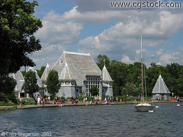 Lake Harriet and the Bandshell