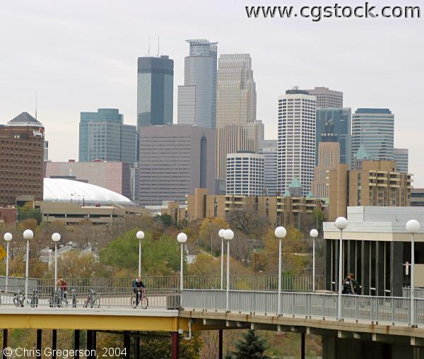 Minneapolis Skyline from the U of M