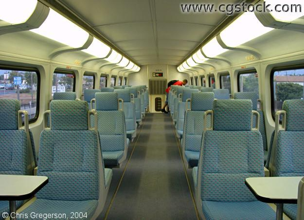San Diego Coaster (Train Interior)