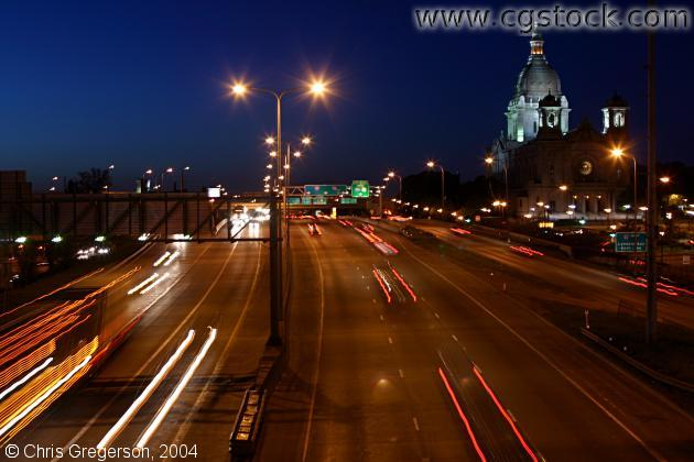 Interstate 94 at Night