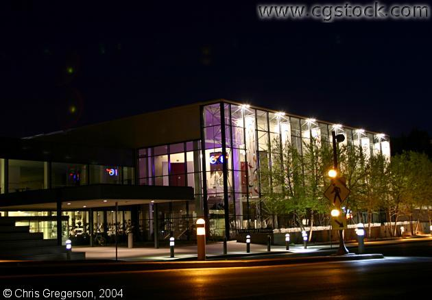 The Guthrie Theater at Night (Old Location)