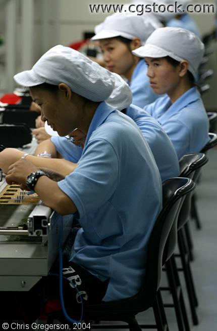 Chinese Electronics Workers