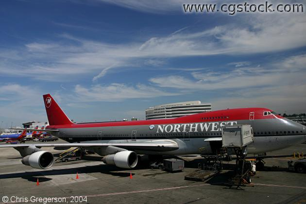 Northwest Airlines 747-400