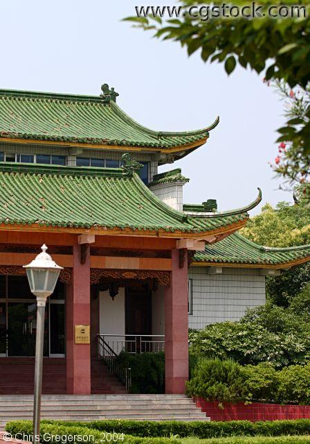 Traditional Chinese Building, Hengdian, China