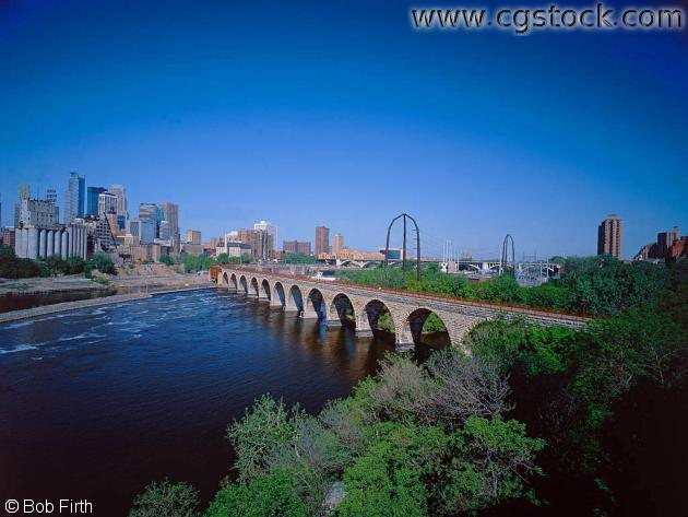 J.J. Hill Stone Arch Bridge
