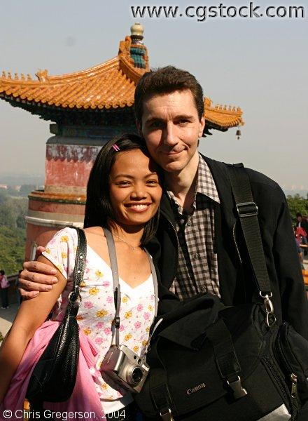 Couple at the Summer Palace, Beijing, China