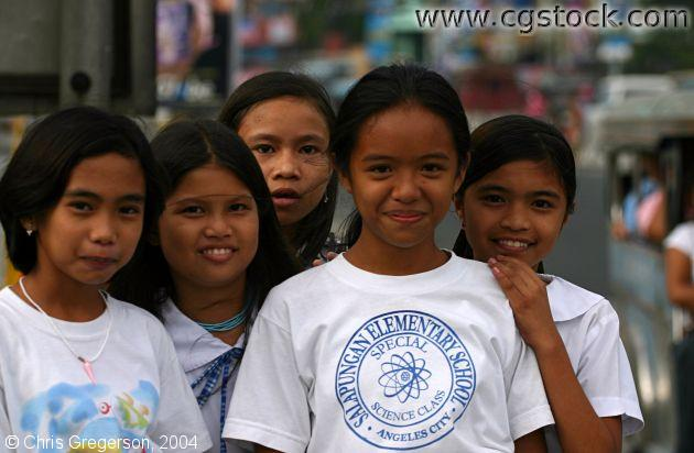 Filipina Schoolgirls