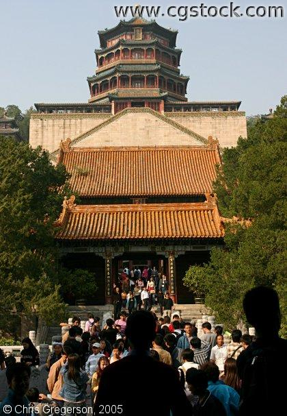 Summer Palace Temple, Beijing, China