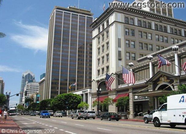 US Grant Hotel in Downtown San Diego, California