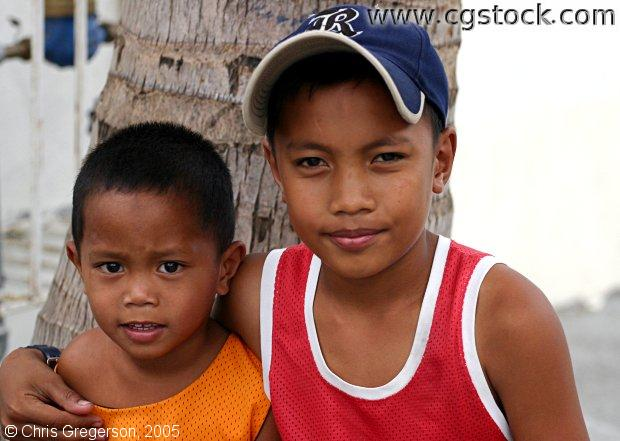 Two Young Filipino Boys