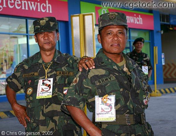 Filipino Army Soldiers
