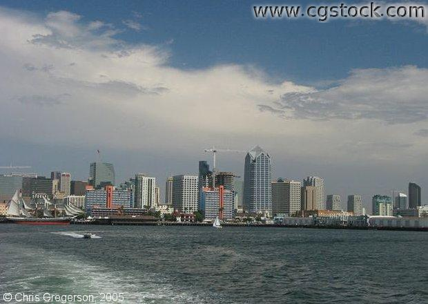 San Diego Skyline from the Harbour