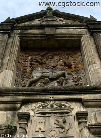 Entrance to Fort Santiago, Manila
