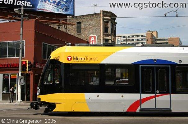 Minneapolis Light Rail Car