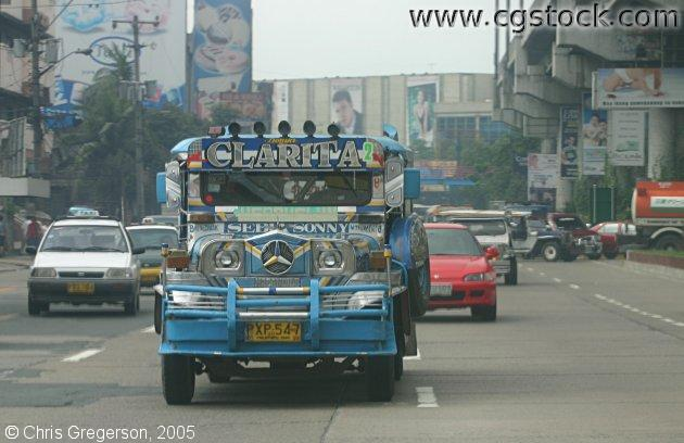 Jeepney in Manila, The Philippines