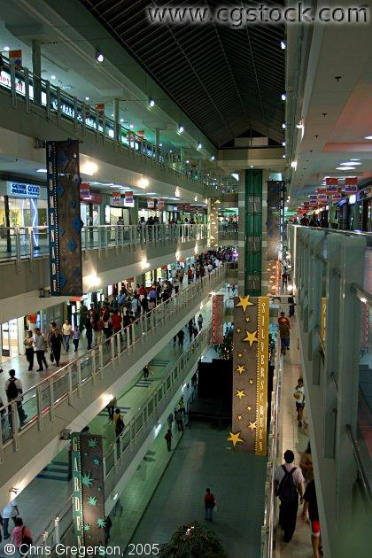 SM Mega-mall Shopping Center in Manila