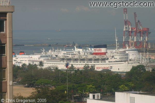 Cruise Ship in Manila Bay