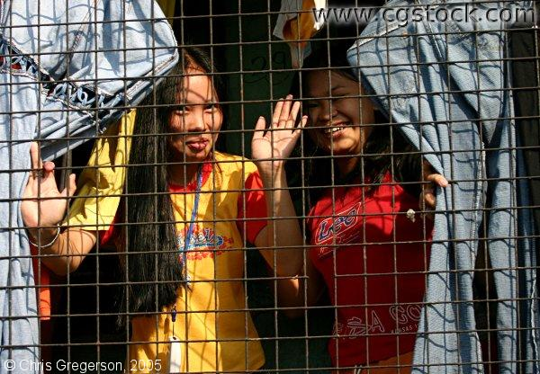 Young Women in Manila, the Philippines