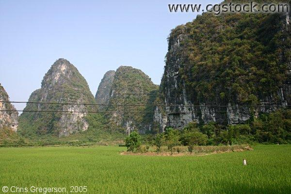 Scenic Karst Mountains, Yangshuo, China