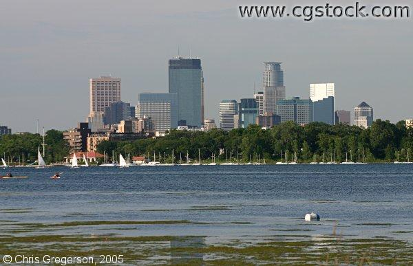 Minneapolis Skyline and Lake Calhoun