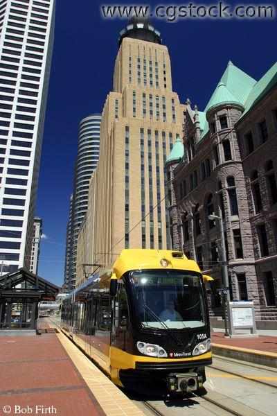 Minneapolis Light Rail, City Hall Station