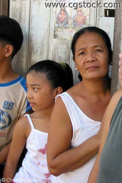 Filipino Family Members, Siteo Pader, Pampanga