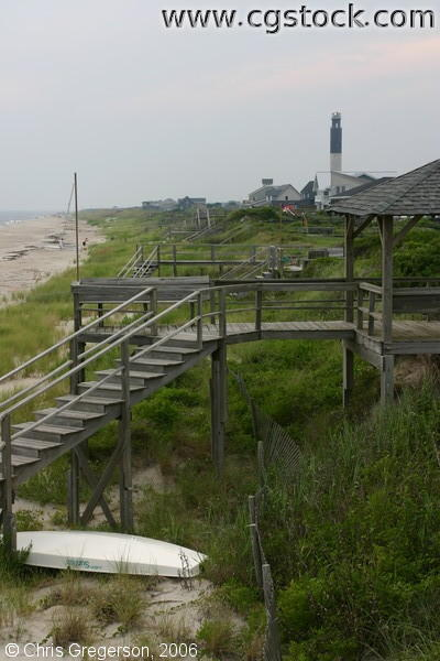 Oak Island Dunes, Beach, and Lighthouse