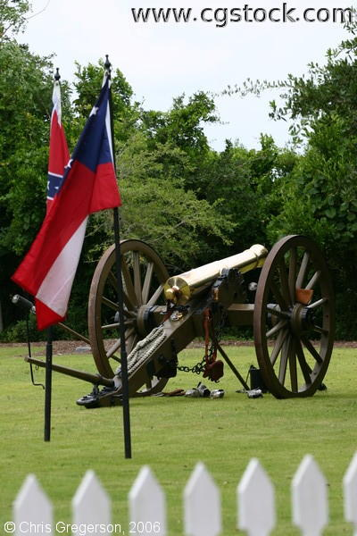 Restored Confederate Canon, Bald Head Island, NC