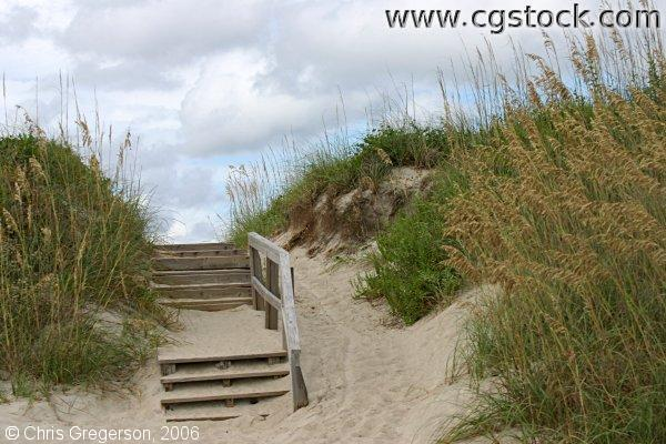 Stairs Leading to the Beach, Bald Head Island