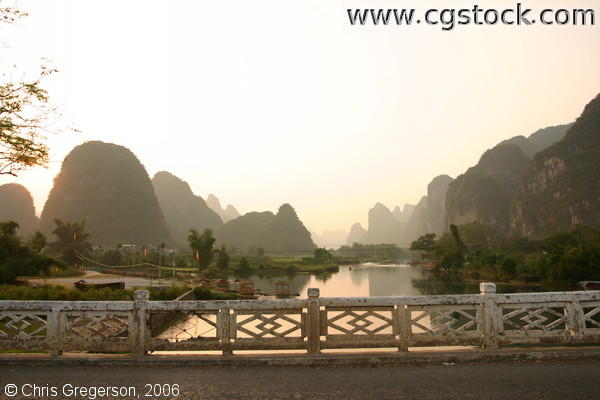 Li River and Kurst Mountains, Guangxi Province