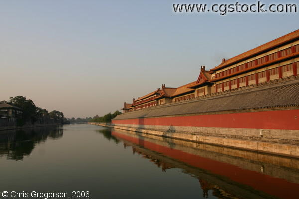 Moat on the West of the Forbidden City, Beijing