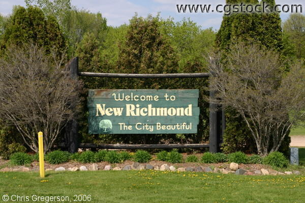 Welcome to New Richmond Sign
