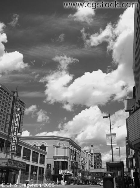 Hennepin Avenue and Block E, Infrared