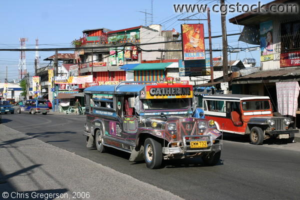 Jeepney, the Common Public Transportation in the Philippines
