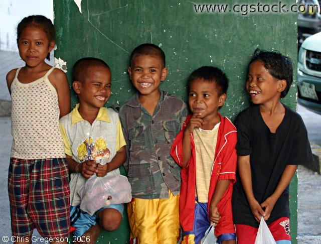Aeta Children in Clark