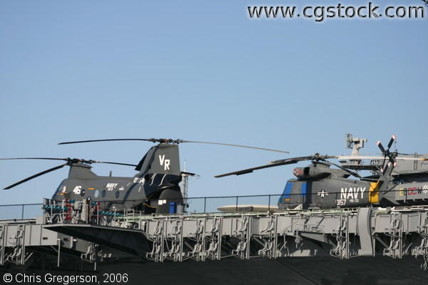 Navy Helicopters, Aircraft Carrier
