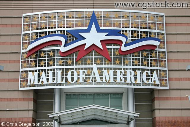 Entrance to the Mall of American