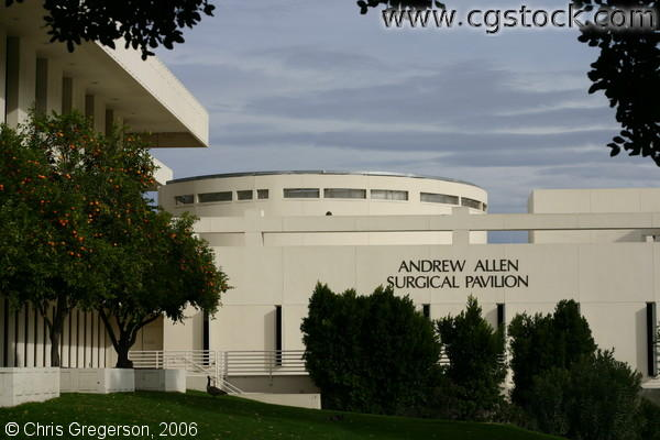 Andrew Allen Surgical Pavilion, Eisenhower Medical Center, in Rancho Mirage, California