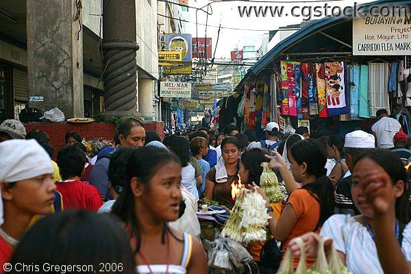 Busy Day on Carriedo Flea Market