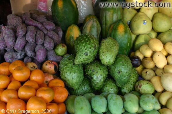 Different Fruits on Sale in Tagaytay