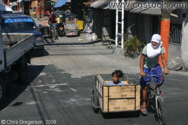 A Tricycle for Loading Things in the Streets of Imus, Cavite