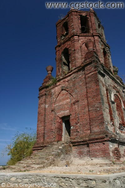 Historical Bell Tower in Vigan, Ilocos Sur, Philippines