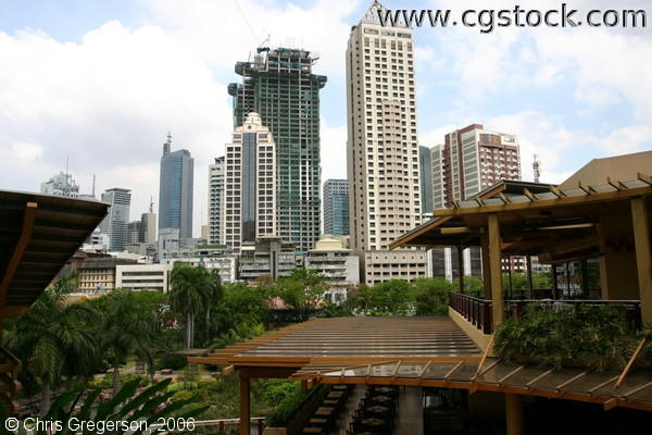High-Rise Towers of Makati City, Manila, Philippines