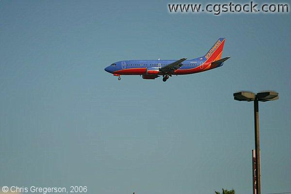 Southwest Airlines Flight Landing